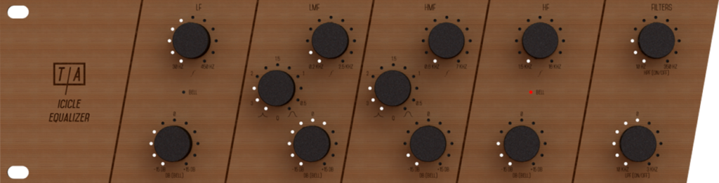 Analog side of the Icicle Equalizer