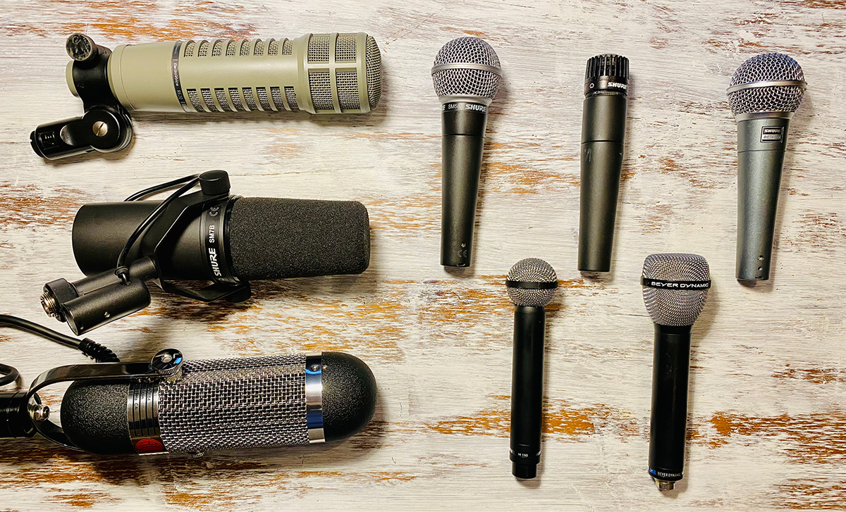 Flavours Preamps - Microphones